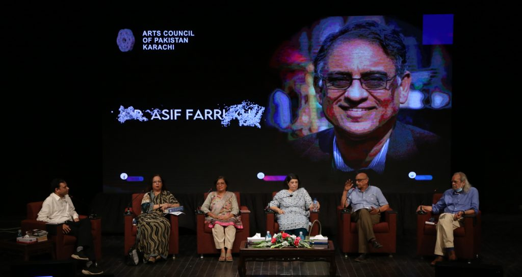 Arts Council pays tribute to Dr. Asif Farrukhi